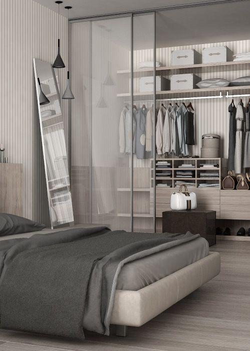 Garderoba W Sypialni Aranżacje Garderoby Sypialnia