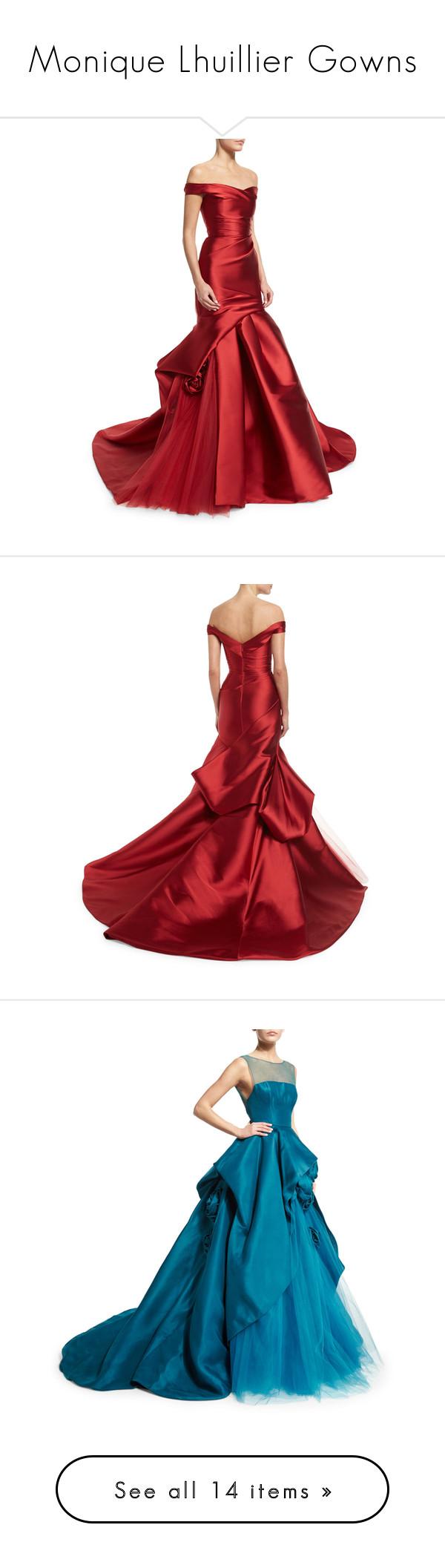 Monique lhuillier gowns