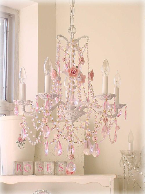 Pink And Gold Vintage Nursery Children S Chandeliers Lighting Kids Lamps