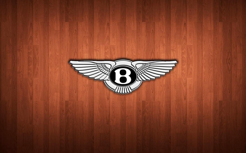 Bentley Wooden Planks Logo Wallpaper HD 1440×900 for Desktop Background
