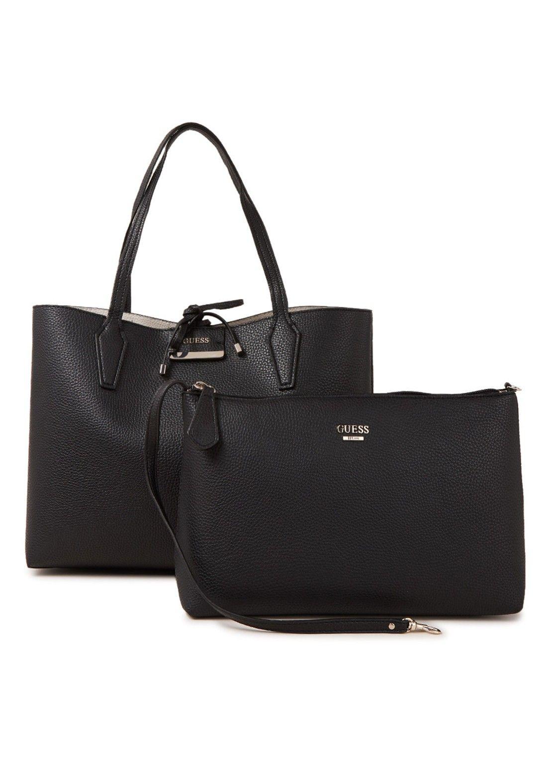 d09dcbe4ae0 GUESS Bobbi Reversible shopper met uitneembaar schoudertasje • de Bijenkorf  #handbags #purses #designerbags #handtassen #tassen #bags #fashion #stijl  #moda ...