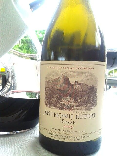 Antonij Rupert, Syrah. Little Havanna, Umhlanga, South Africa. Delicate violet bouquet which mingles with ripe plum, black cherry and spice. Complex and inviting. A pliable, textured wine packed with silky rich, ripe black fruit. The gentle floral violet note and spice add dimension and interest. Smooth and velvety, it's layered with depth and concentration yet remains fresh and succulent. Balanced, structured and polished.