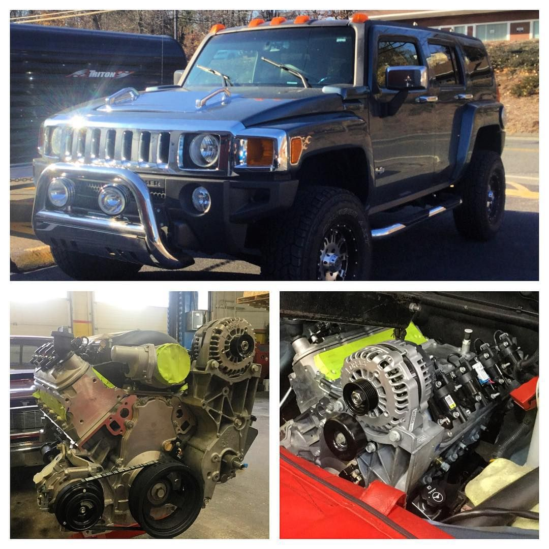 Ls3 Engine Came In What Cars: Nice Project Here Hummer H3 Getting An LS3 Swap. The H3