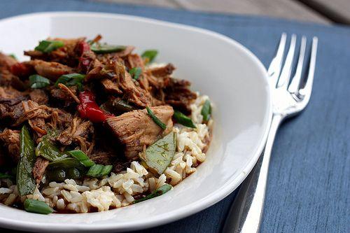 Crockpot Asian pork by Elly Says Opa, via Flickr