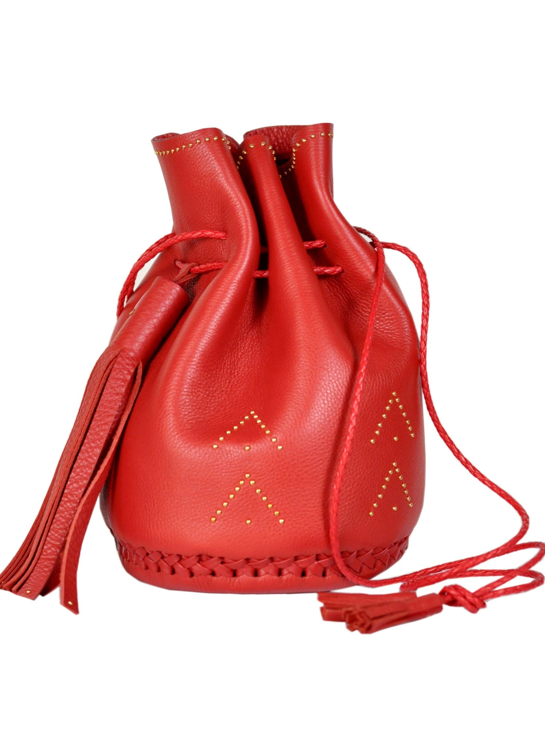 633a6b73e The Wendy Nichol Studded Chevron Bullet Bag | BONADRAG.COM | Bag ...