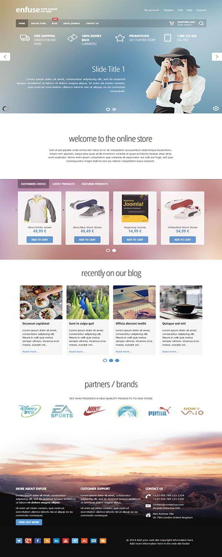 EnergizeThemes - Enfuse Joomla Template - Enfuse is a great Joomla ...