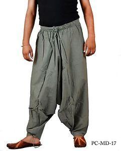 664b6e9bd Indian Men s Cotton Dull Green Harem Pants Aladdin Trousers Alibaba ...