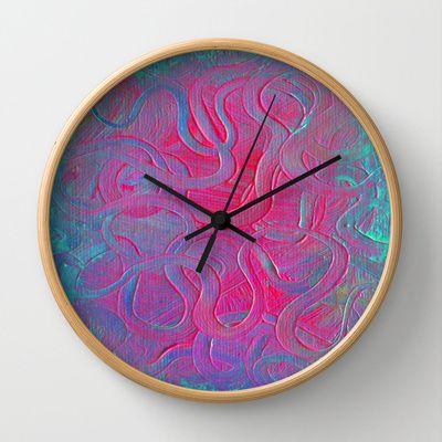LEVIATHAN Wall Clock by Morgan Ralston - $30.00