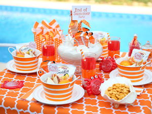 Throw A Fabulous Goodbye Summer Party Summer Kids Party Summer