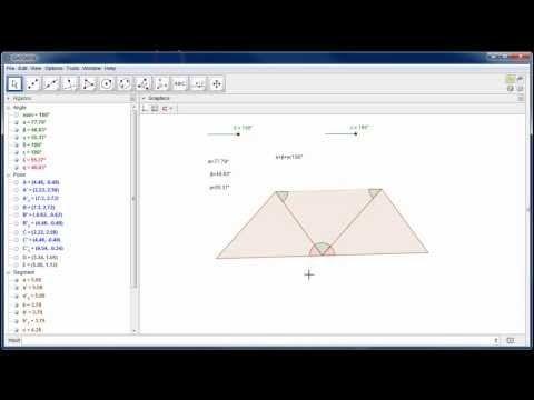 MA38-다이내믹 텍스트와 삼각형 내각의 합