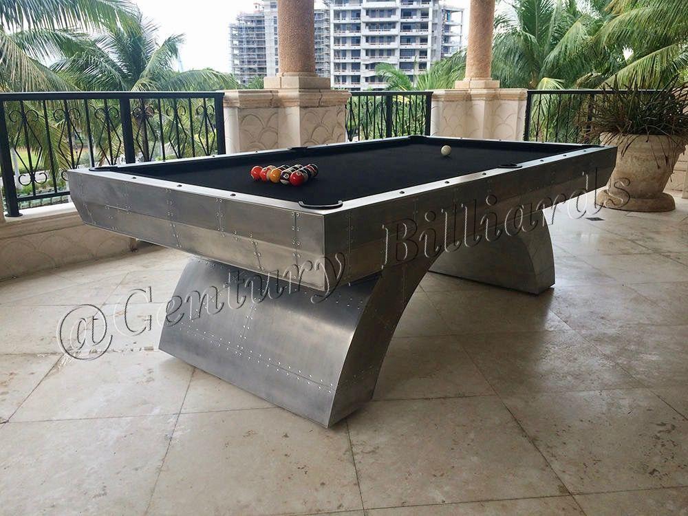 Restoration Hardware Outdoor Pool Table