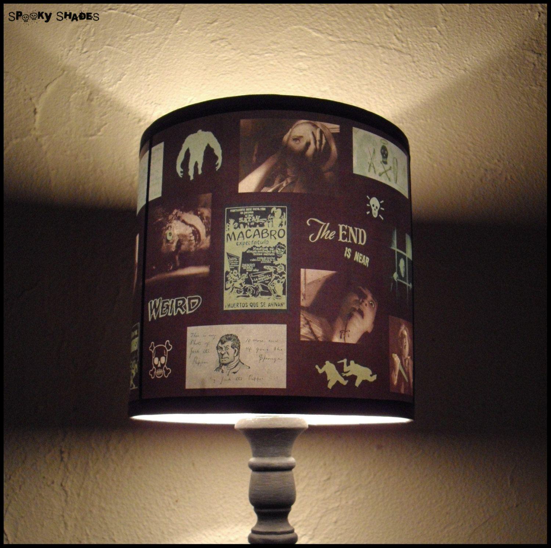 Green Horror L& Shade L&shade halloween by SpookyShades & Green+Horror+Lamp+Shade+Lampshade++halloween+by+SpookyShades+u20ac45.00 ...