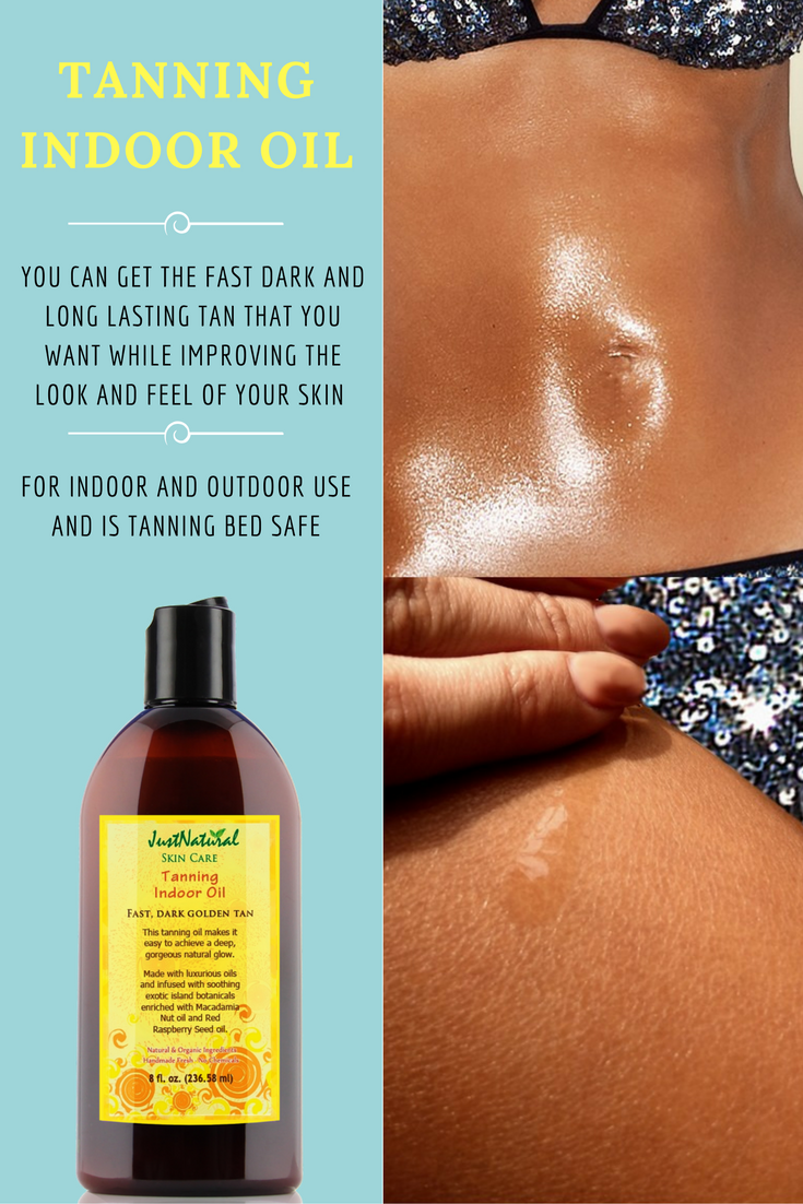 Tanning Indoor Oil Helps & Support Skin Just Nutritive
