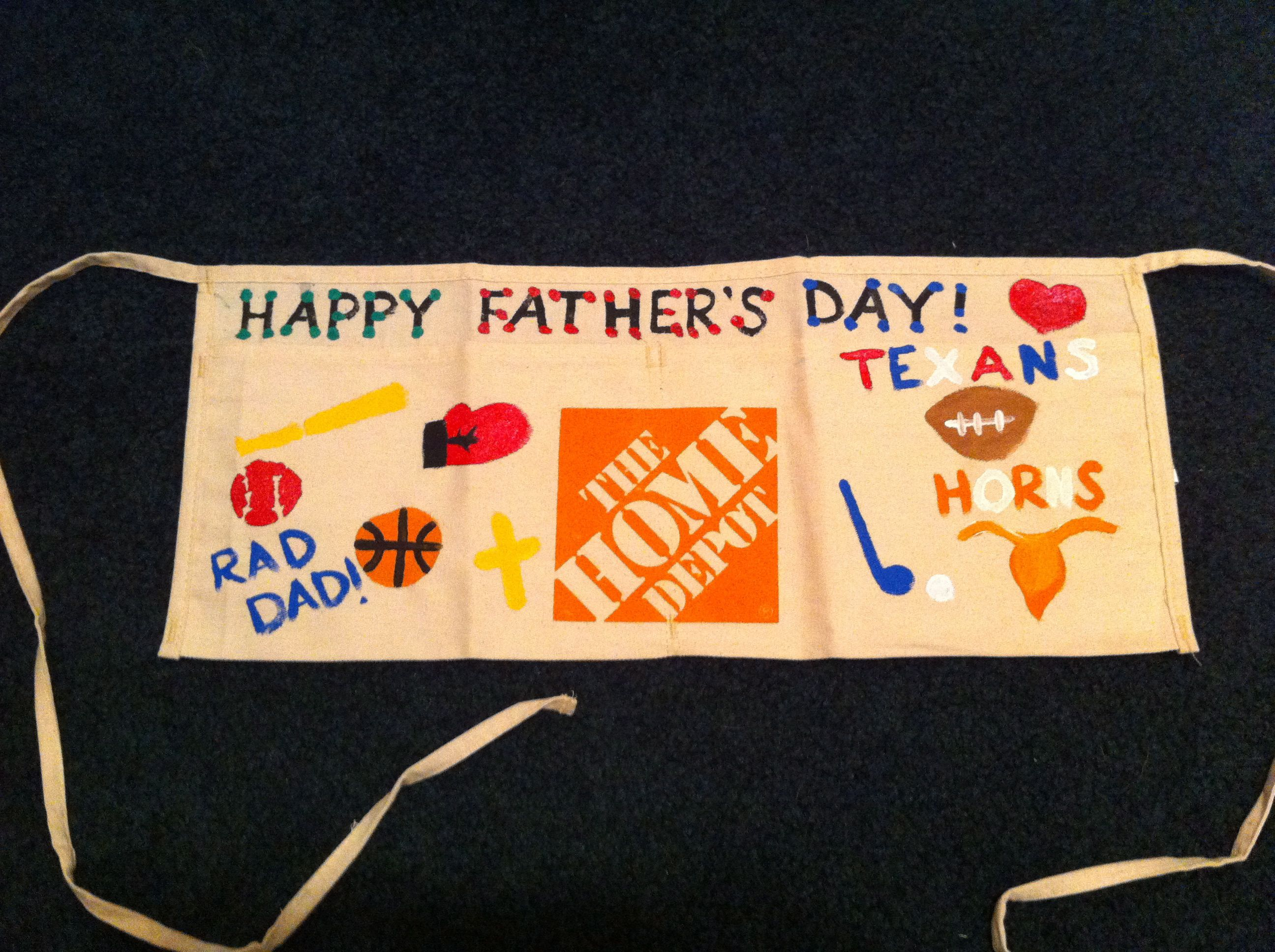 Great, cheap, and easy Father's Day craft!