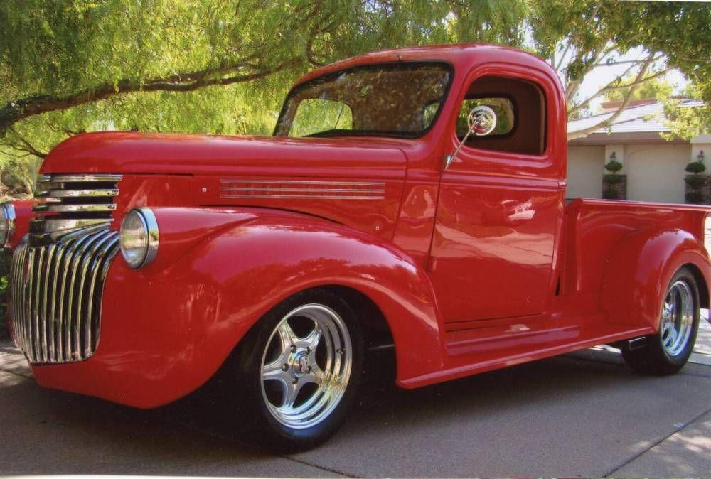 Custom 1946 Chevrolet Pickup Truck   Girls Love Trucks!   Pinterest ...
