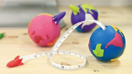 Earth tape measures