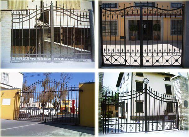 Disenos de cercas disenos sencillos disenos con zoclo o for Disenos de puertas para casas modernas