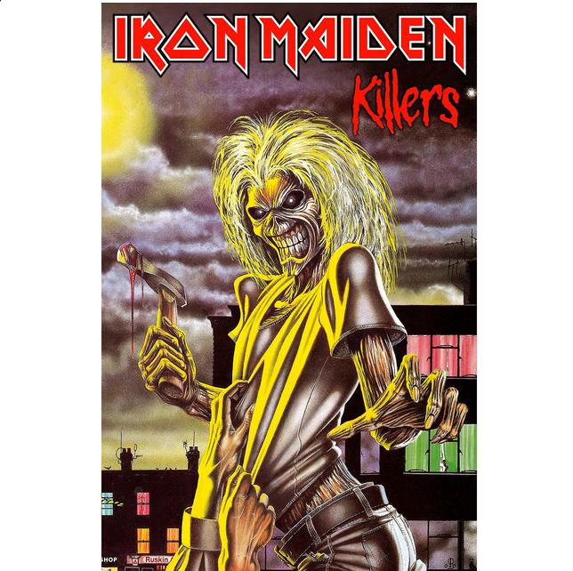 Killers Poster Flag Grafis Desain Ikan