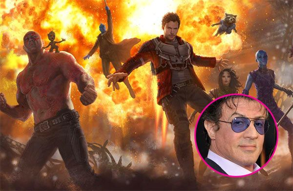 Sylvester Stallone's character in Guardians Of The Galaxy Vol. 2 revealed? #FansnStars