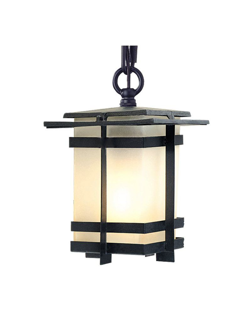 Transitional style small tower square pendant light lamps