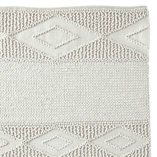 Just Bought This Beautiful Macrame Wool Rug Love The White On White With Texture It S Going To Be Perfect For Our Nursery Wool Rug Rugs Nursery Decor Rugs