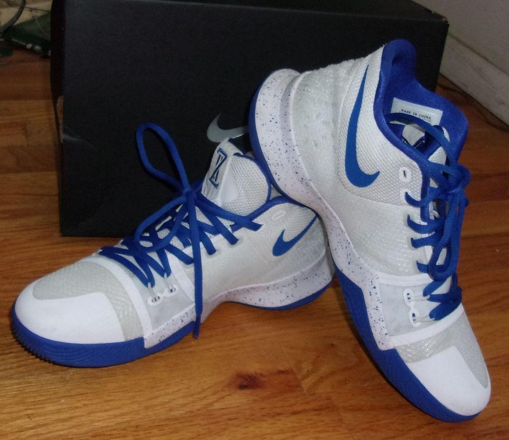 finest selection 368af e6543 Nike ID Custom Kyrie 3 Sneakers Basketball Shoes Size 8 ...