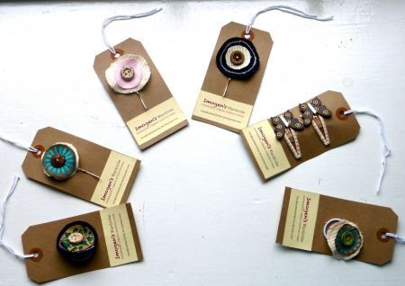 Organic Hair Accessories by Imogen.