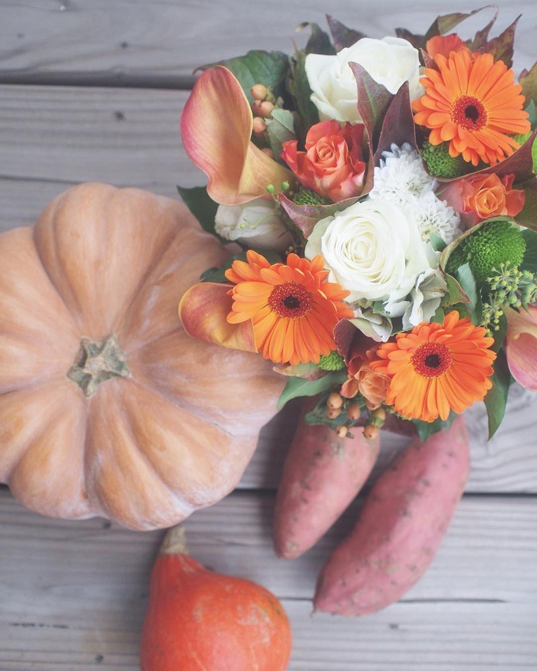 Courge, potimarron et patates douces, jolies couleurs de la semaine dernière ✨ Bonne soirée  #flowleaf2015