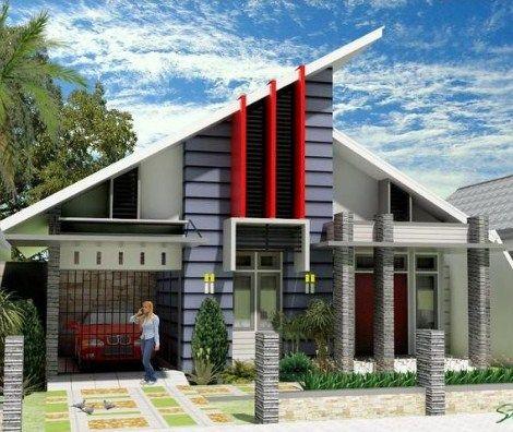 gambar rumah minimalis 1 lantai type 100 | desain