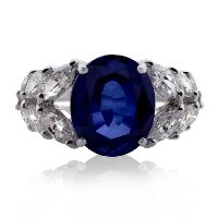 Imperial Oval Sapphire