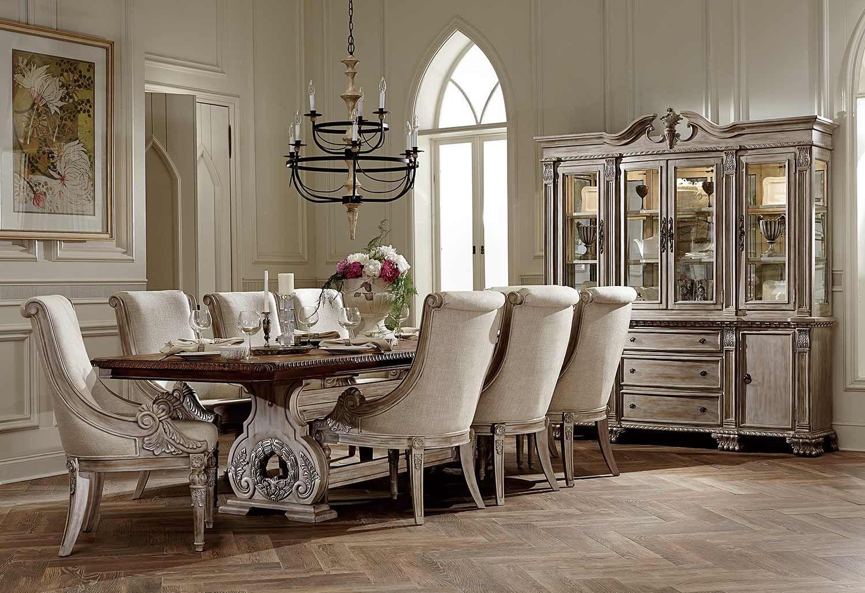 Homelegance Orleans Ii Trestle Dining Set Dining Room Furniture Sets Formal Dining Room Furniture Sets Elegant Dining Room Formal dining room table sets