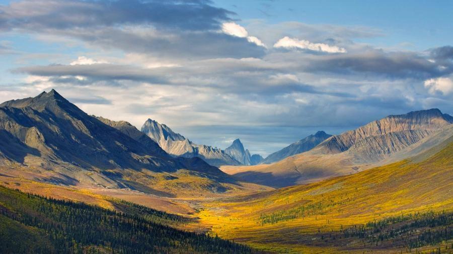 Klondike River Valley, Yukon, Canada Paysage, Photos