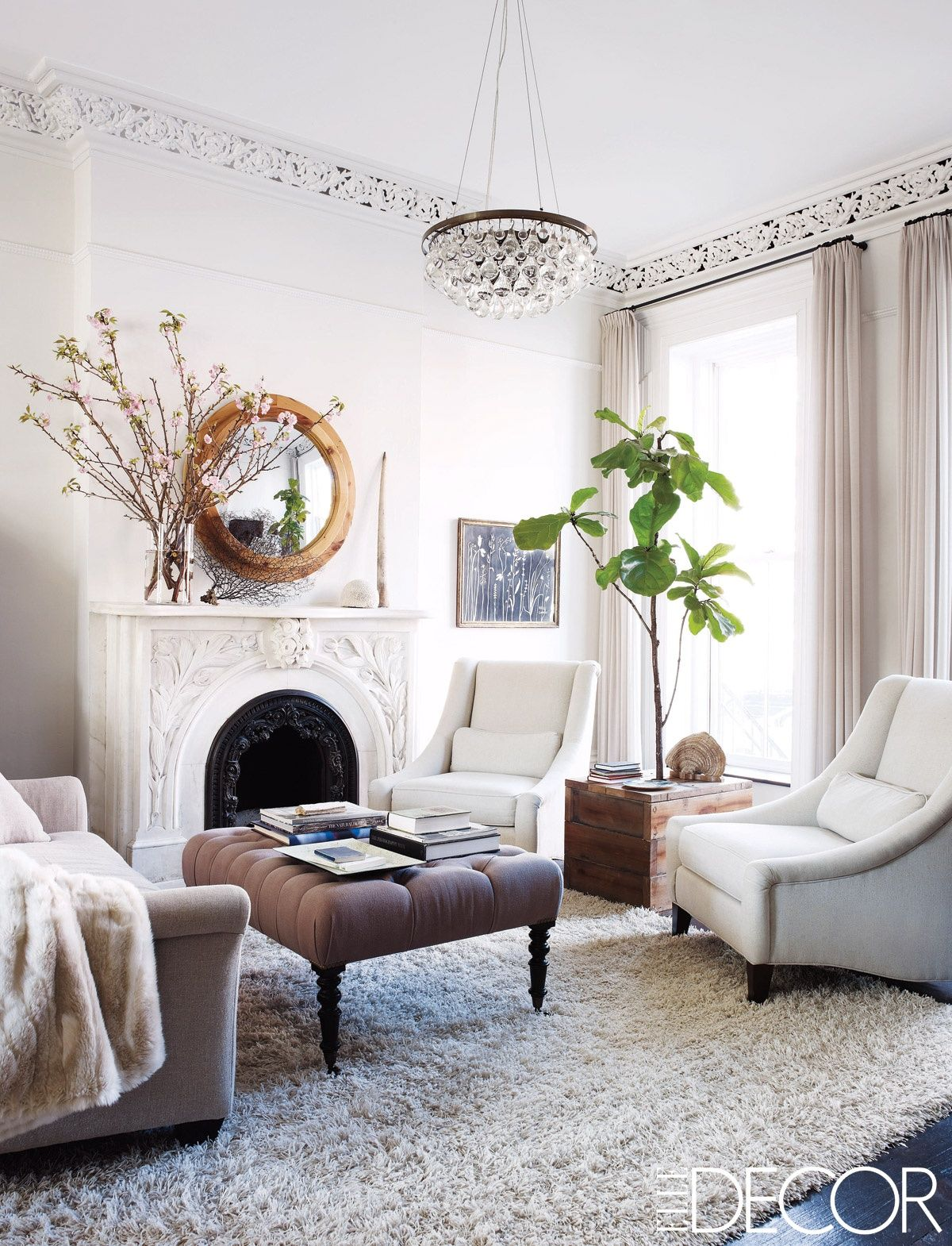 Keri Russell at Home | Living rooms, Room and Interiors
