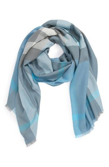 Burberry Check Cashmere Scarf available at #Nordstrom