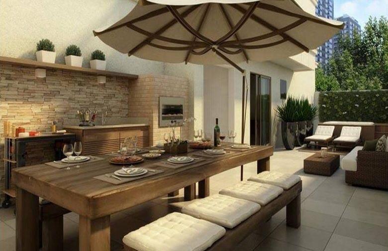 closets balcony housing gourmet area gourmet kitchen home gourmet ...
