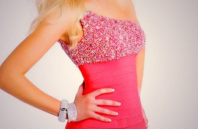 Love the beading on this dress!