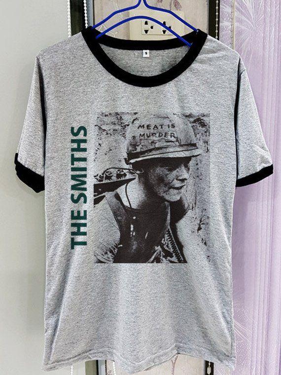 29cb74cc Details about The SMITHS Rock T-shirt Le Tout Nouveau 45t! New Morrissey  Tee Men | Wishlist | Rock t shirts, Shirts, T shirt
