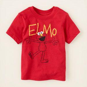 Elmo graphic tee