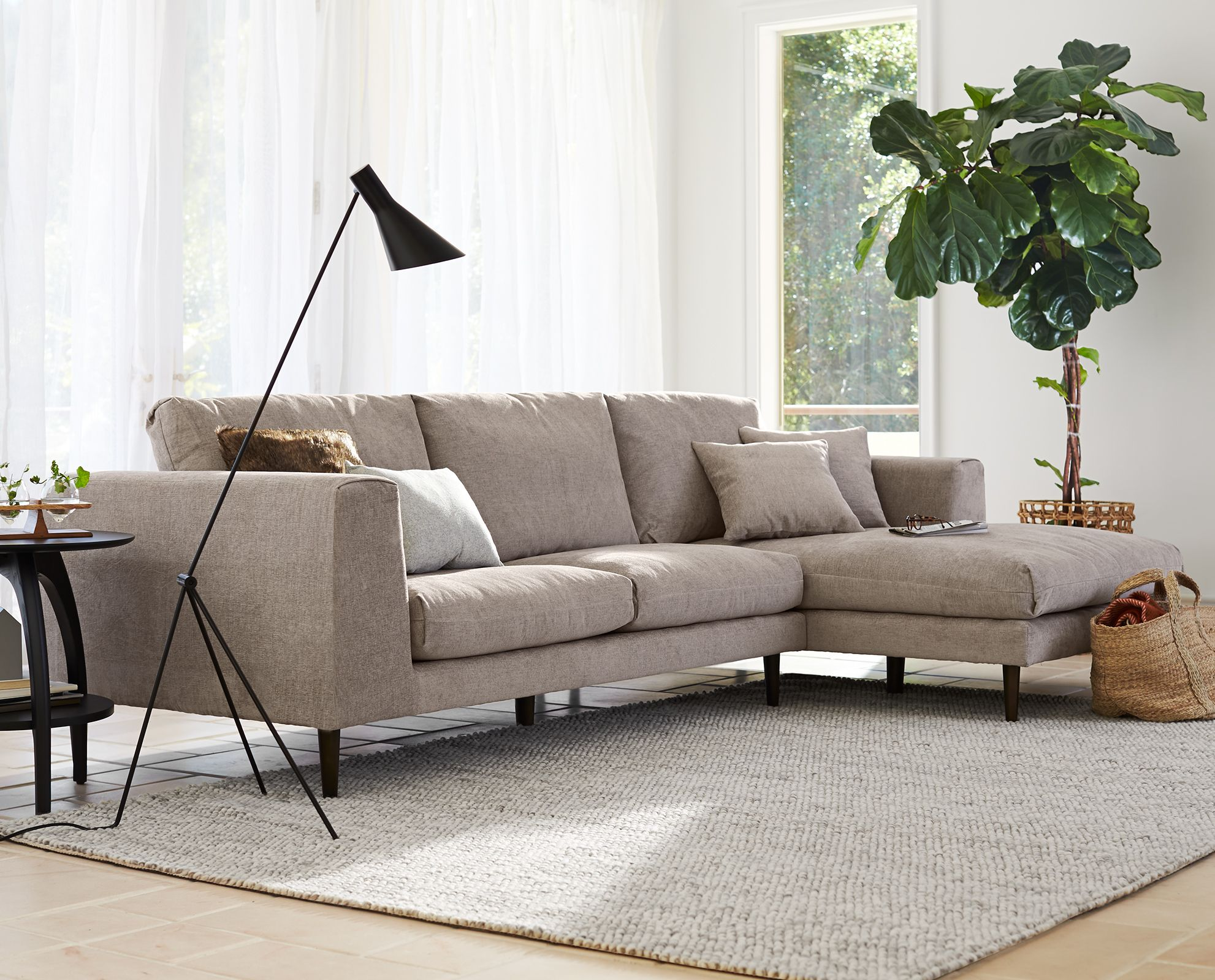 Jorgen Chaise Sectional from Scandinavian Designs sectional sofa