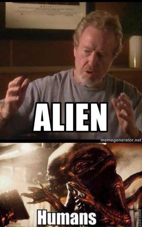 Lol Alien  | Aliens | Alien isolation, Alien vs predator