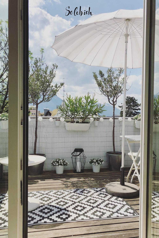 9 wohnliche Ideen für den kleinen Balkon