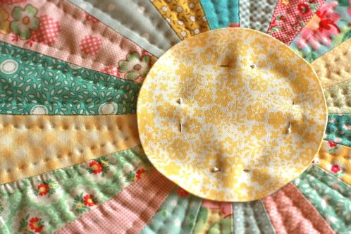 How to make the perfect applique circles. this method is amazing