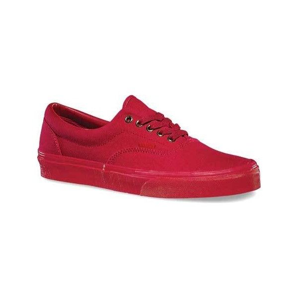 870ec5779f Vans Gold Mono Era Sneaker - Crimson Casual Shoes ( 45) ❤ liked on Polyvore  featuring shoes