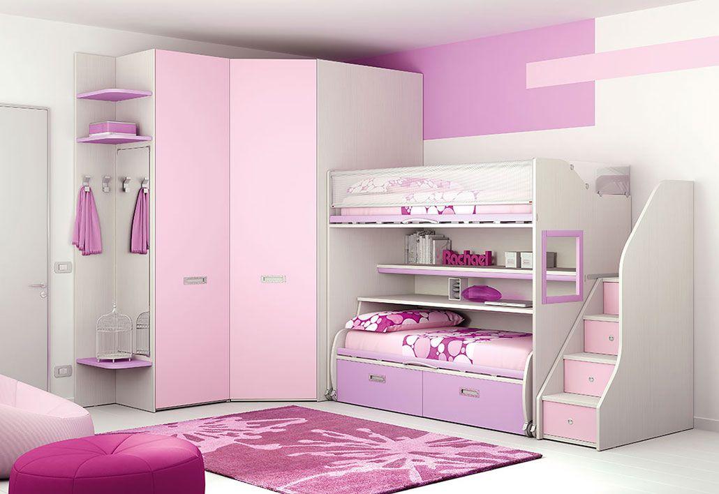 Camerette Moretti Compact | Bunk beds | Pinterest | Compact, Bunk ...