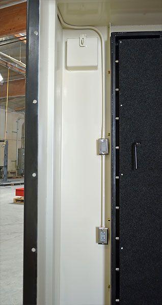 Shelter room interior electrical system and vent   Safe ...