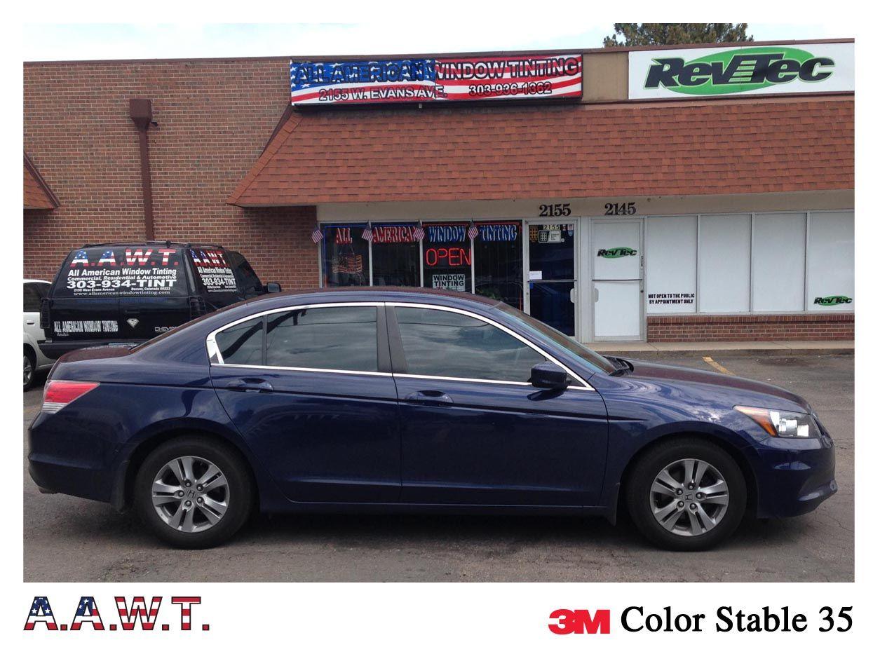 3m Color Stable 35 On This Honda Accord Honda Accord Bmw Car Bmw
