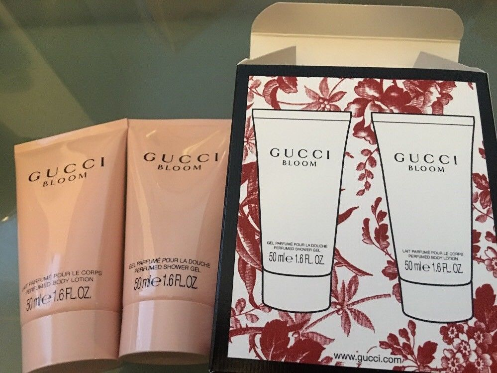 d0db865d7b7 Gucci Bloom Set Of Body Lotion 50ml And Shower Gel 50ml | new scents ...