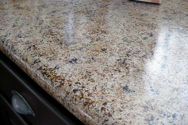 Pin By Carol Bolton On Diy Faux Granite Countertops Budget Kitchen Makeover Faux Granite