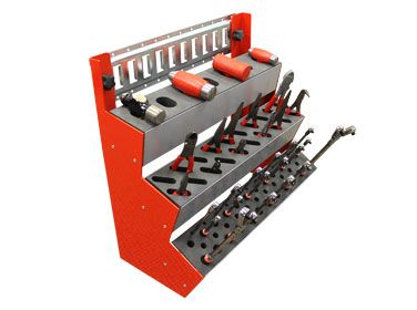 Hand Tool Display Roll Cart Storage Concepts Tool Cart