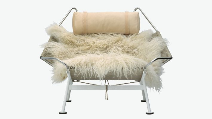 PP MØBLER / COLLECTION / LOUNGE CHAIRS / PP225 - THE FLAG HALYARD CHAIR